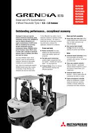 grendia es fd15 35n series engine powered forklift trucks 1 5