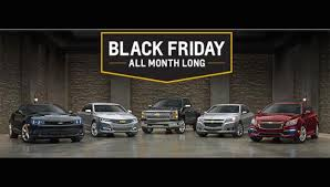 friday car deals 2015 for the thanksgiving weekend