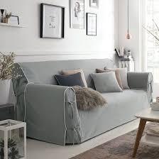 canap gris perle housse de canape gris perle canapé idées de décoration de maison