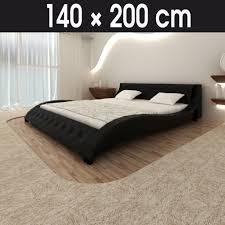 Schlafzimmer Komplett Lederbett Bett 140x200 Mit Matratze Und Lattenrost Hausdesign Schlafzimmer