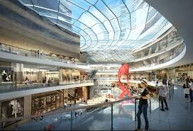 shopping mall interior rendering u0026 other interior rendering