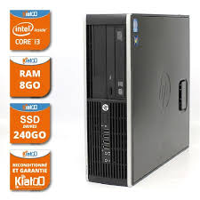 ordinateur de bureau intel i3 ordinateur de bureau hp elite 8200 i3 8go ram 240 go disque