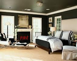 Black Painted Walls Bedroom 41 Sensational Interiors Showcasing Black Painted Walls