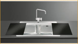 Black Glass Kitchen Sinks Glass Kitchen Sinks Get Iris 2 0 Bowl Sink Black Glass Chopping