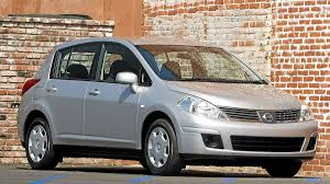 nissan tiida 2008 hatchback roomy little econo box gets mixed marks for reliability the
