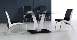 Glass And Chrome Dining Table Glass Dining Table Jonathan Adler Goldfinger Blue Velvet Dining