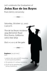 templates for graduation announcements free awesome diy graduation invitation templates free or templates funny