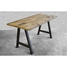 Contemporary Rustic Wood Furniture Modern Rustic Desk Reclaimed Wood Custom Made Urban Decor