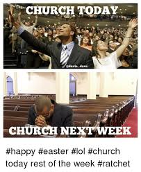 Religious Easter Memes - church on easter v church on the week after easter christian