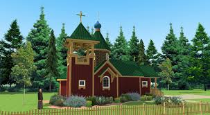 house with tower guest house and bell tower all merciful saviour monastery