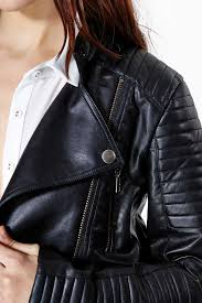 jacket moto wild city faux leather moto jacket impression belles