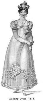 costume wedding dresses regency wedding dresses and later developments in bridal fashions