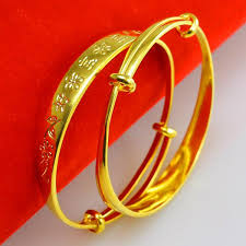 child bangle bracelet images For a long time does not fade gold bracelet mens female baby jpg