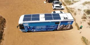 Goes Off Nhbrc Goes Off The Grid With Mobile Solar Solutions