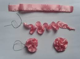 ribbon flowers ribbon flower 4evercrafting