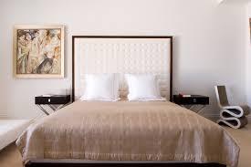 deco chambre tete de lit design interieur chambre contemporaine tête lit capitonné blanche