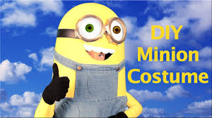 minions halloween costumes for kids how to make a minion costume best diy youtube