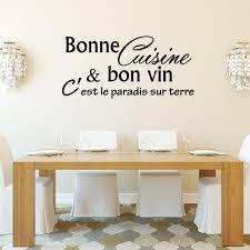 cuisine vin sticker bonne cuisine et bon vin c est stickers citations