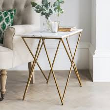 Ceramic Side Table Furniture Marble Side Table With Grey Ceramic Floor And Small