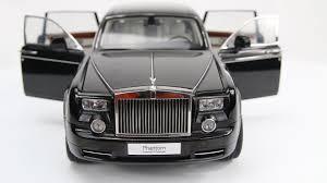 rolls royce phantom extended wheelbase 1 18 kyosho unbox and