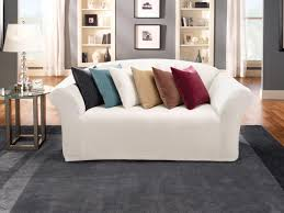 Couch Slipcovers Furniture 3 Seat Sofa Using Grey Couch Slipcovers Target For Home