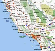 me a map of california map of california coast deboomfotografie