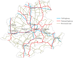 Map Of Central Massachusetts by Spatial Accessibility Of Road Network In Wuhan Metropolitan Area