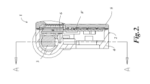 patent us8739428 constant force spring actuator for a handheld