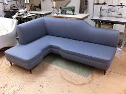 c shaped sofa italian l shaped sofa c 1950 at 1stdibs