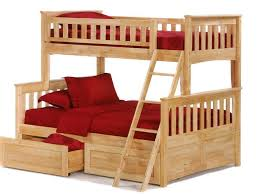Bunk Bed With Pull Out Bed Bedroom Furniture Epic Bunk Beds With Sofa Underneath For