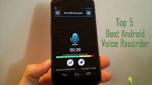 best android voice recorder top 5 best voice recorder for android http appinformers