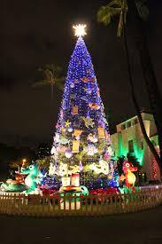 Honolulu City Lights Christmas Tree Honolulu Rainforest Islands Ferry