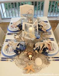themed tablescapes nautical table setting tablescape with david brown