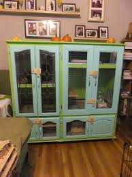 indoor rabbit hutch furniture setups for our rabbits bunny