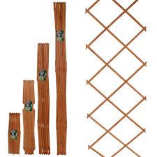 6ft expanding wooden trellis fence panel climbing plants garden