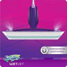 Swiffer Wet Mop On Laminate Floors Swiffer Wetjet Hardwood Spray Mop Starter Kit 11 Pc Walmart Com