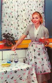 Retro Kitchen Curtains 1950s by 26 Best History Of Curtains 1910 1959 Images On Pinterest