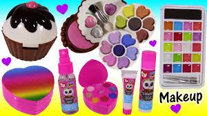 Halloween Makeup Sets by Makeup Beauty Bonanza Lip Gloss U0026 Lip Balm Cupcake Eyeshadow