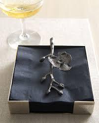 Michael Aram Black Orchid Vase Michael Aram Black Orchid Napkin Holder