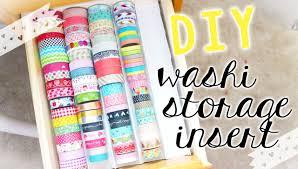 What Is Washi Tape Diy Washi Tape Storage Tray Stationery Craft Storage