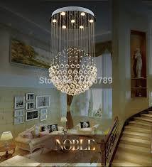 hanging a chandelier aliexpress buy modern led crystal chandelier living room for elegant