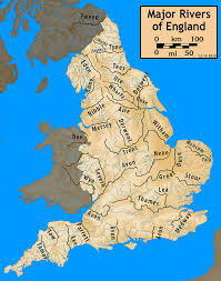 Map Of England And Ireland by List Of Rivers Of England Wikipedia