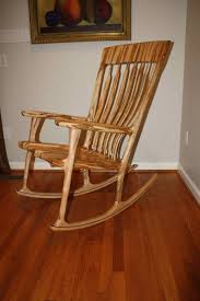 Maple Chairs Handmade Deja Vu Ambrosia Maple Rocking Chair By Design By Jeff