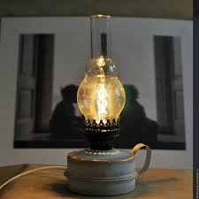 Edison Bulb Table Lamp Buy Kerosene Stove Vintage Table Lamp Night Light Electric On