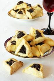 hamantaschen poppy seed cookies with poppy seed filling for purim hamantaschen