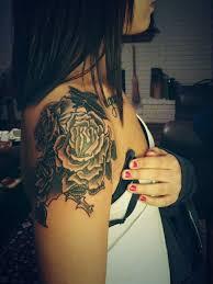 rose half sleeve tattoo tattoos pinterest half sleeve