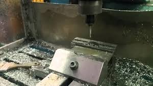 Hurco Kmb1 Home Retrofit Spiral Milling Generic Steel Youtube