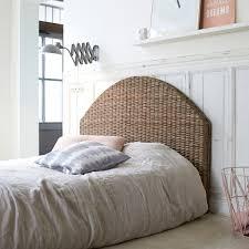Schlafzimmer Betten Rund Kopfteil Bett Aus Kubu 160 Louison Tikamoon