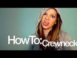 diy how to cut hoodies into crewnecks monica church youtube