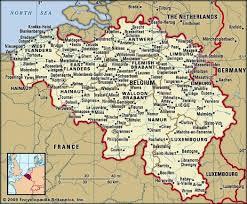 physical map of belgium belgium history geography britannica
